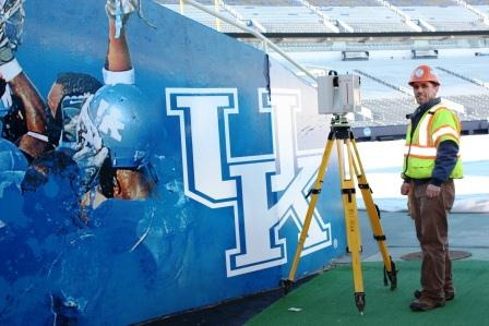 UK Commonwealth Stadium Laser Scan