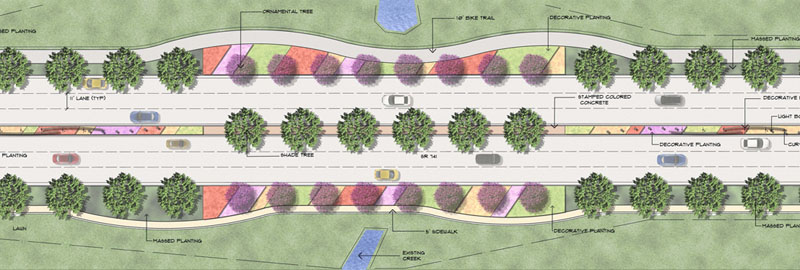 State Route 741 Streetscape Plan