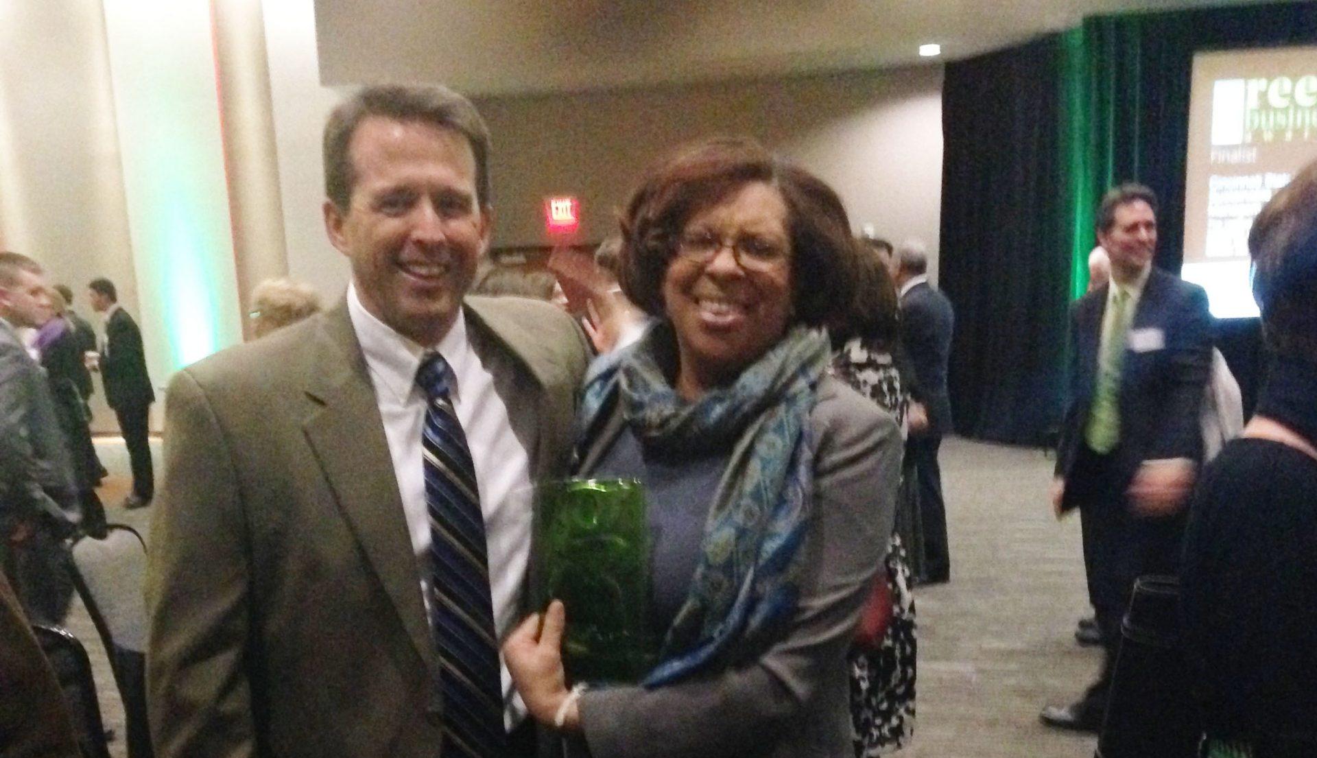 Cincinnati Public Schools SRTS Project Wins Green Advocacy Award