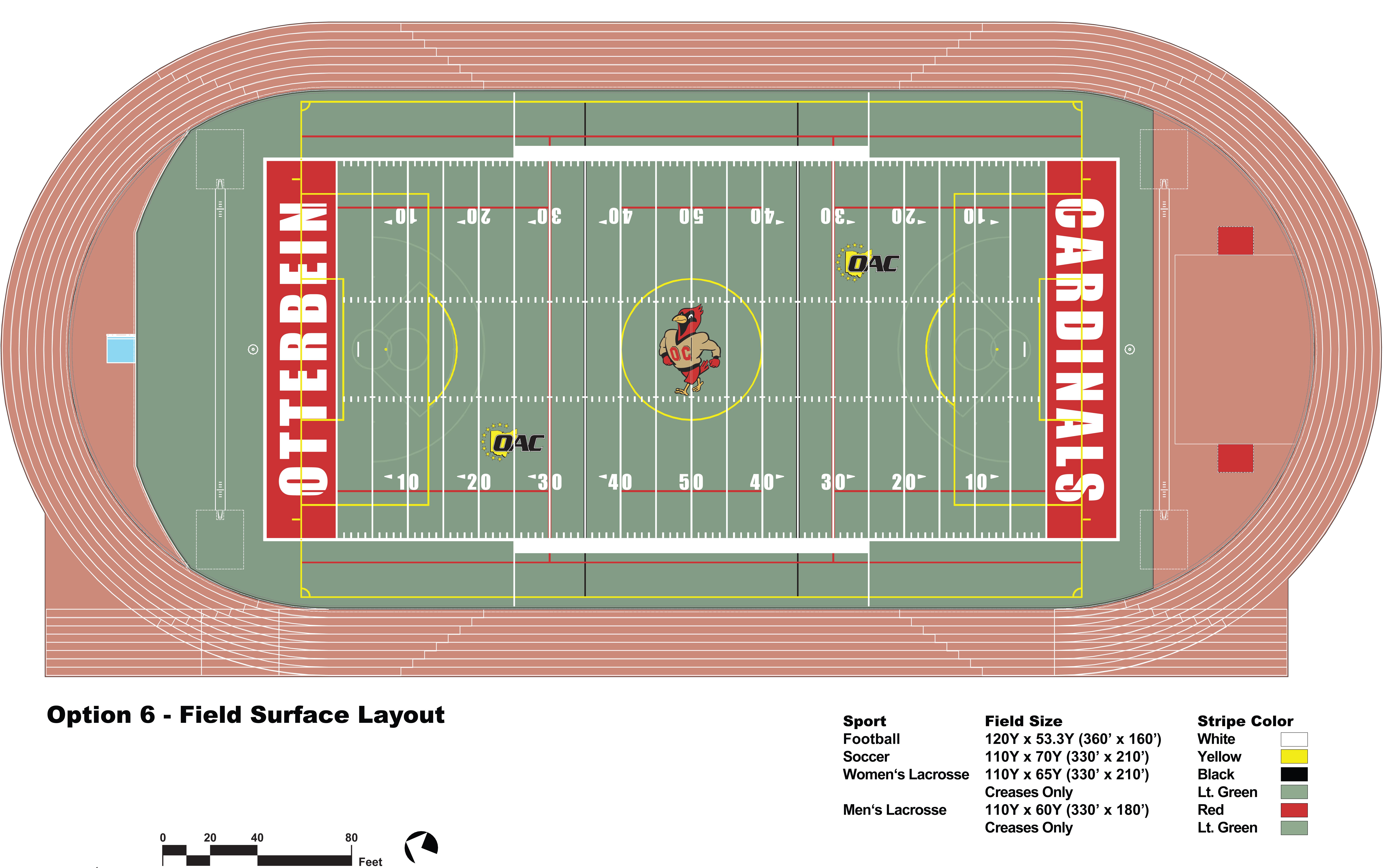 Otterbein University Athletic Field Plan