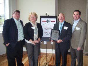 Frank F. Ferris II Planning Award, Tim Casto and Jay Stewart with Deer Park