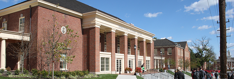 Kleingers conducted civil engineering and survey at the Miami University Armstrong Student Center in Oxford.