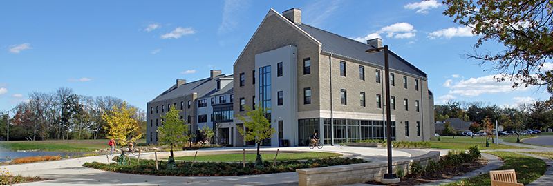 Kleingers conducted civil engineering, survey and landscaping at Miami University in Oxford,