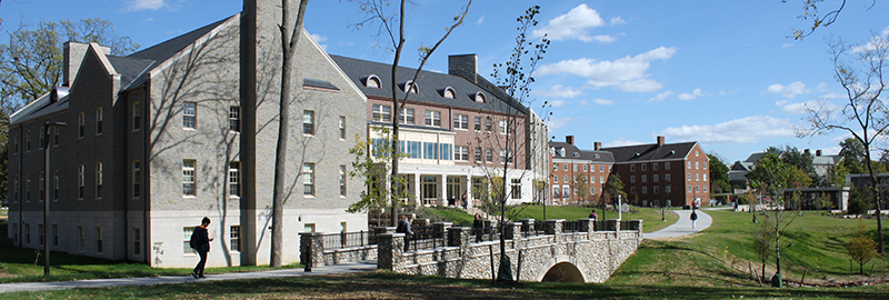 Kleingers conducted landscaping and site improvements at Miami University in Oxford.